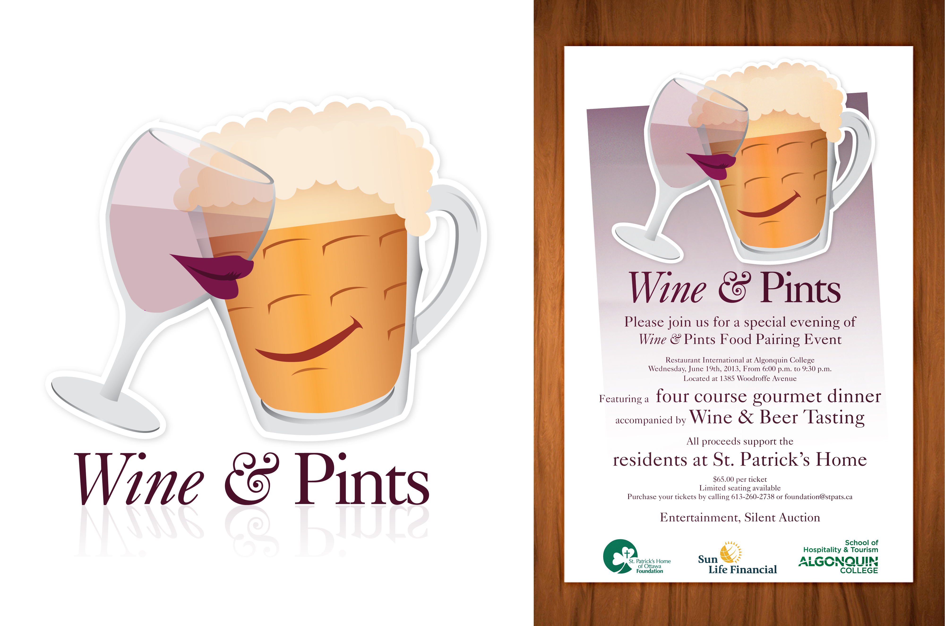 Wine and Pints