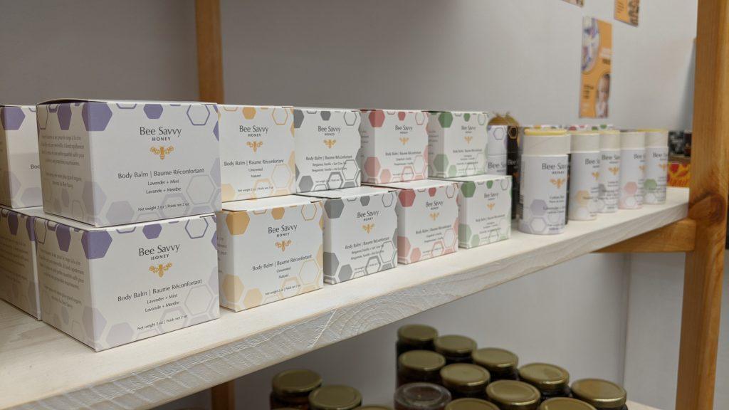 Bee Savvy Honey Packaging