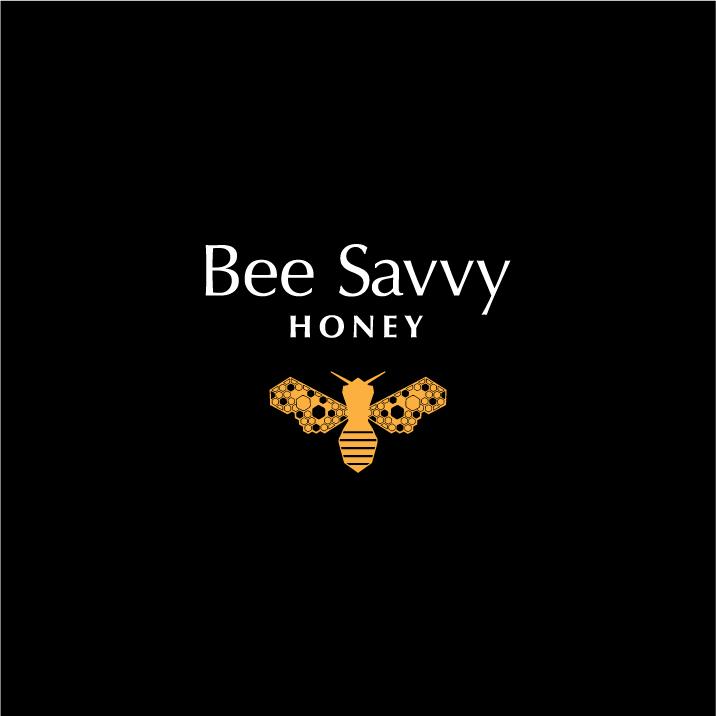 Bee Savvy Honey Logo