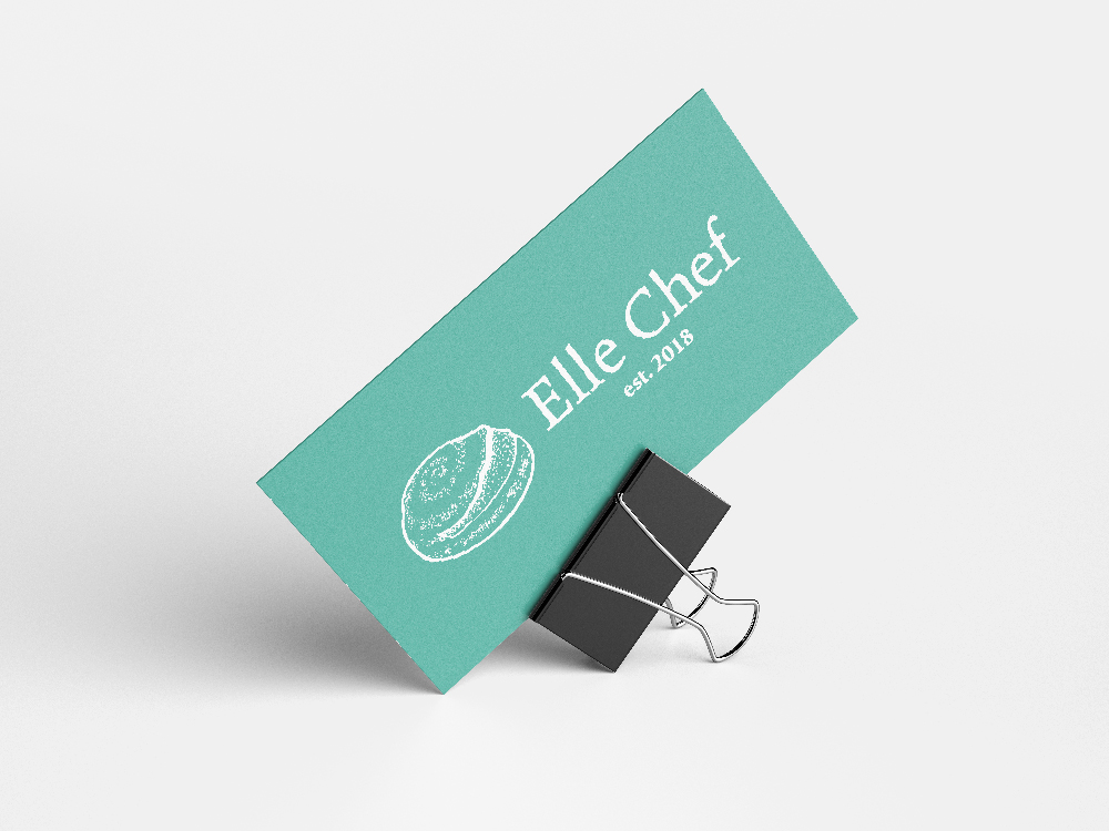 Elle Chef Business Card