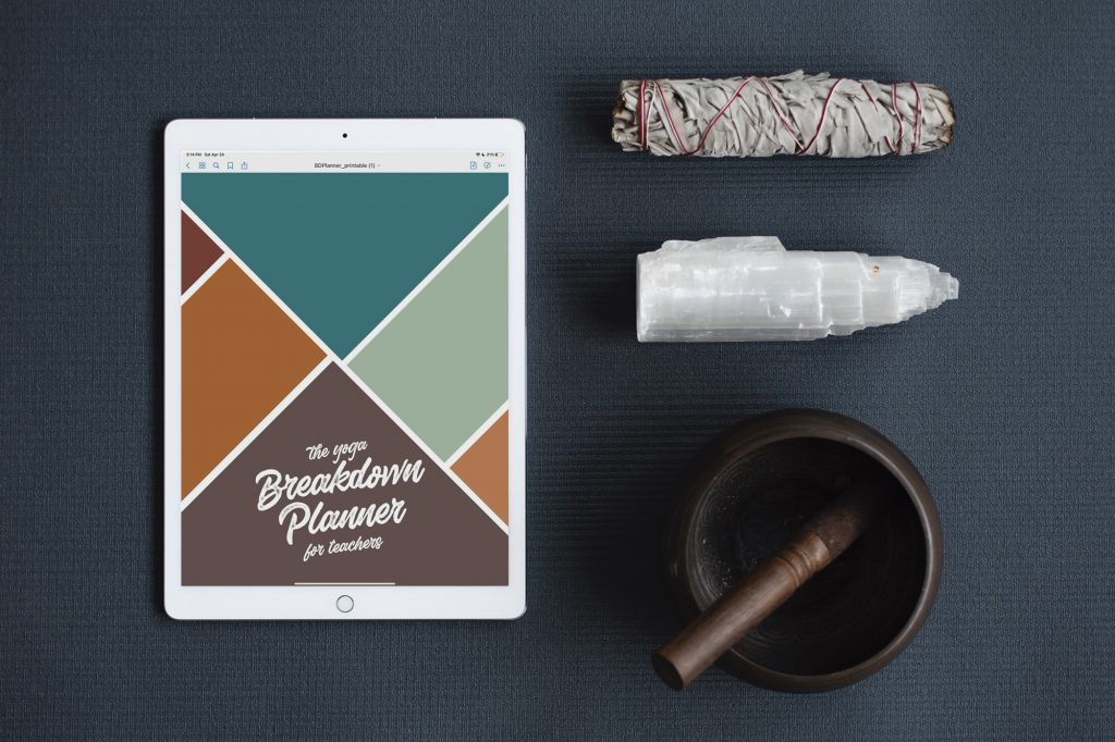 The Yoga Planner iPad Pro